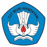 "Logo Pendidikan ""Tut Wuri Handayani"" Sekolah - SD - SMP - SMA"