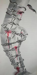Você se acostuma com a dor.''
