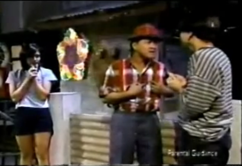 Oki Doki Doc ABS CBN 90's Agot Isidro as Alex, Babalu as Mang Berto, and Aga Muhlach as Doc Aga