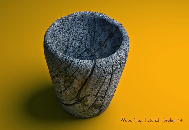 Blender Render - Wood Cup Tutorial - Jephyr '14