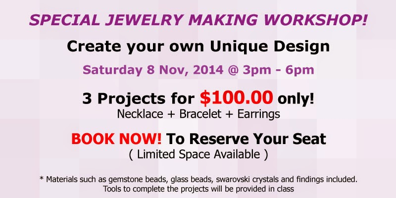 Special Jewelry Making Workshop