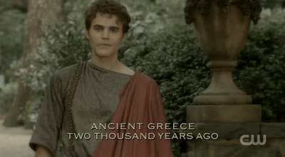 Ancient Greece Silas Two Thousand Years Ago from Vampire Diaries
