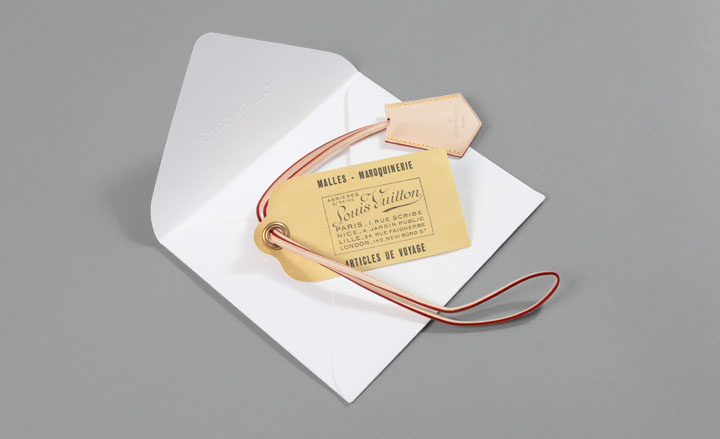 Louis Vuitton 39s luggage tag useful and pretty script