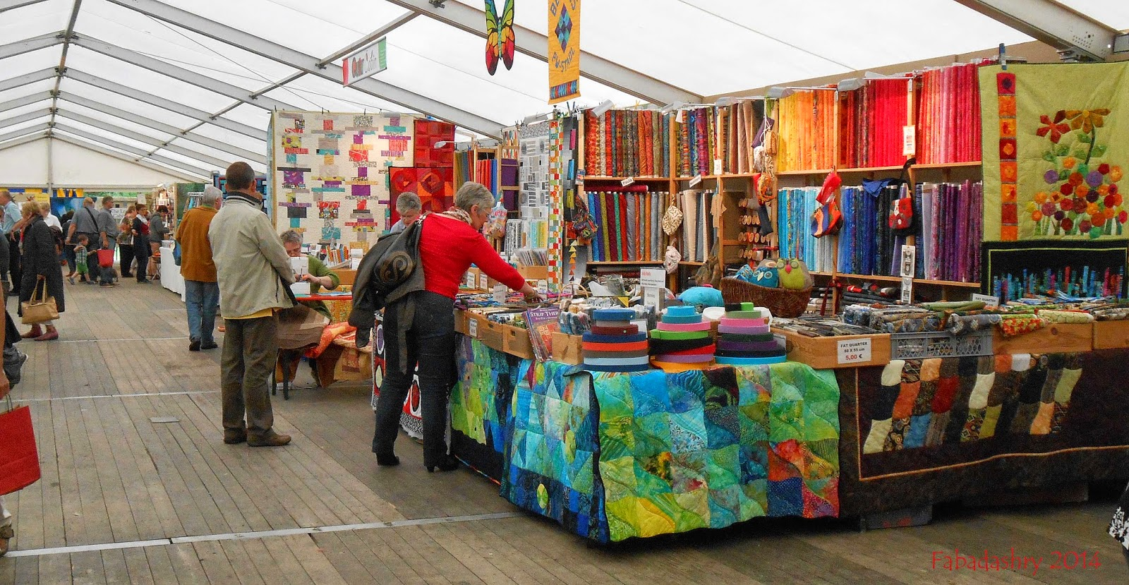 International Quiltfestival in Luxembourg 2014