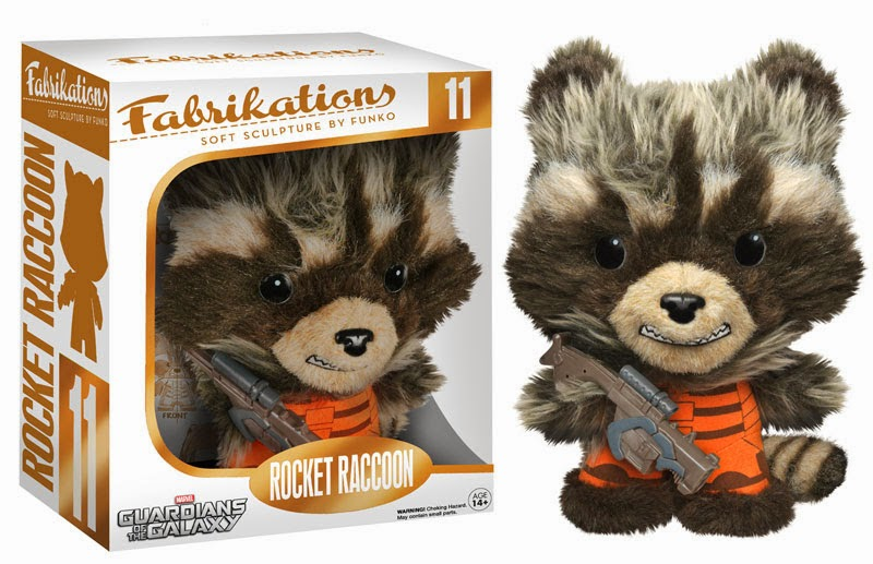 Rocket Raccoon Guardians of the Galaxy Fabrikations Plush Figure by Funko