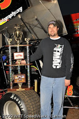 2009 Central PA 358 Point Series Most Popular Driver Nate Snyder