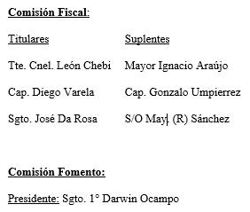 Comisión Fiscal 2016