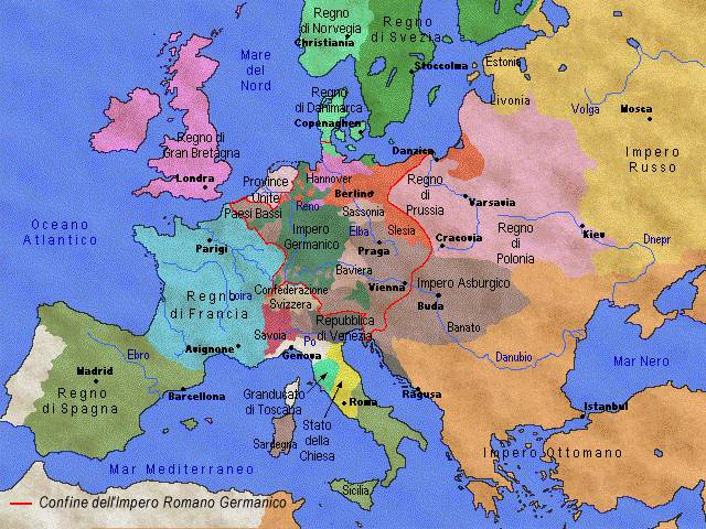 Europa: Storia e Cultura dal mito all'UE - dal 1.559 al 1.788
