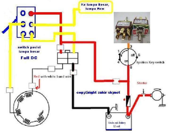 Solusi battery modifikasi lampu motor sistem ac ke full dc posisi switch full dc asfbconference2016 Gallery