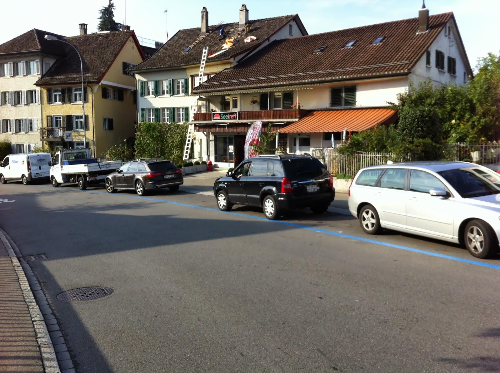 Парковки в швейцарии