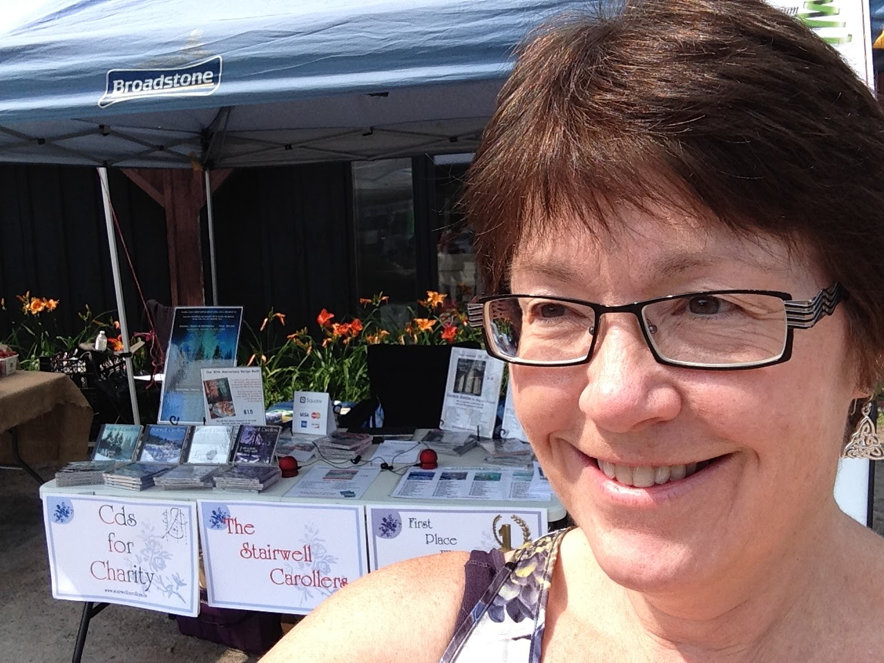 At the Manotick Farmers Market