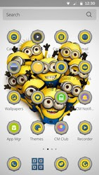 Screenshots of the Minions for Android tablet, phone.