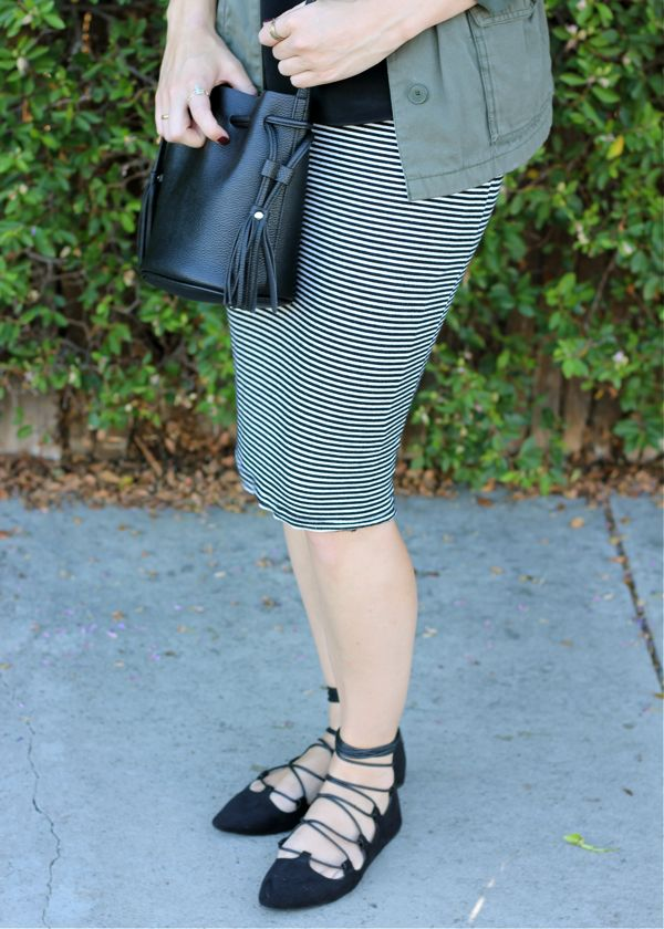 H&M, bag, tassel, outfit, fashion blog