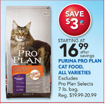 Petsmart Coupons For Pro Plan Dog Food