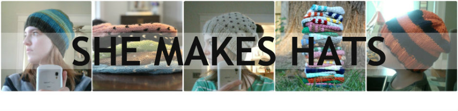 she makes hats