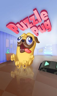 Screenshots of the Puzzle Pug for Android tablet, phone.
