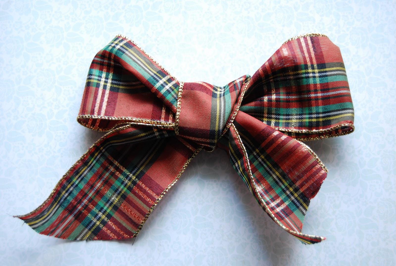 Delipapel lazos anchos para decorar el rbol coronas de - Lazos para arbol de navidad ...