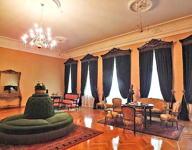 salon palatul ruginoasa