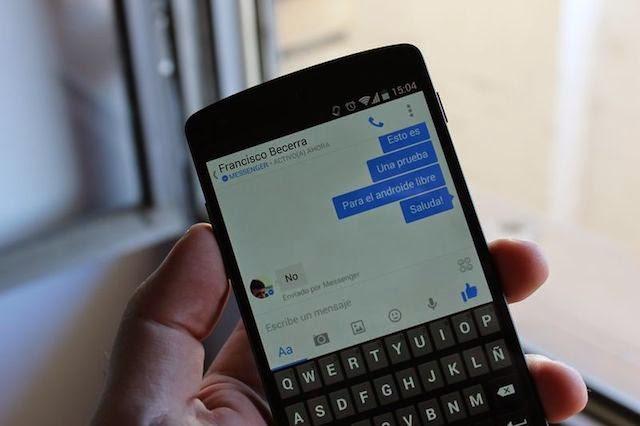 Mira lo nuevo del Facebook Messenger