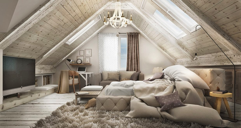 Projects un dormitorio 2 soluciones 3d virlova style - Buhardillas de diseno ...