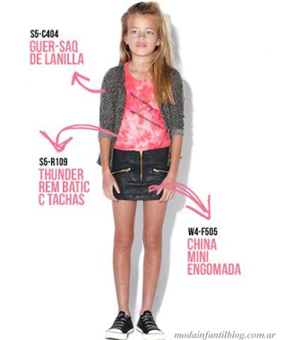 prendas infantiles moda verano 2014 queen juana