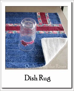 Dish rug Free Tutorial at Freemotion by the River