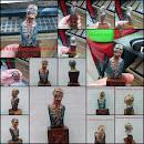 Busto Walking Dead Camarmeño JDML
