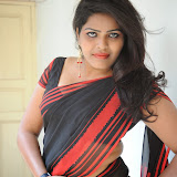 Sitara Hot Photos in Saree at Gundello Guchi Guchi Champake Movie Press Meet 44