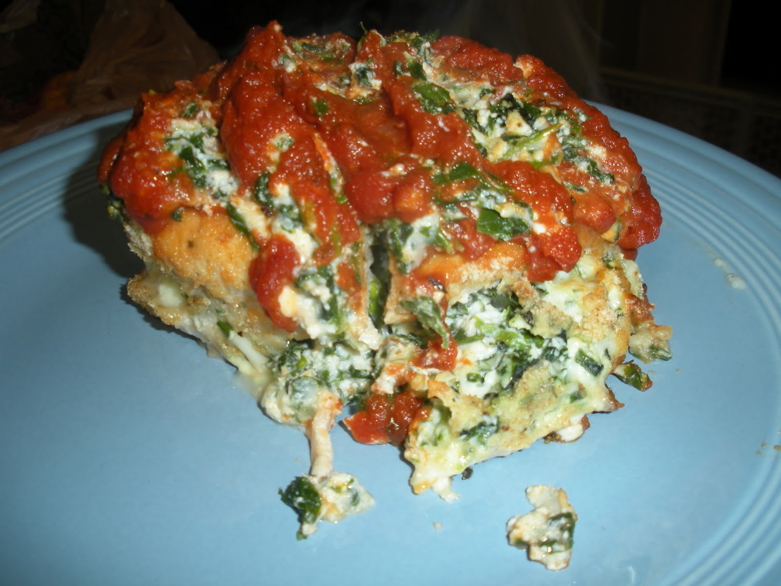 Jackie Likes to Eat: Chicken Rollatini with Spinach alla ...