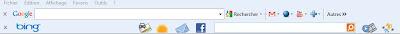 Qu'est ce qu'une toolbar ou barre d'outils?