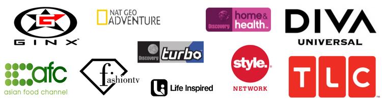 Daftar saluran televisi gaya hidup di Indovision.