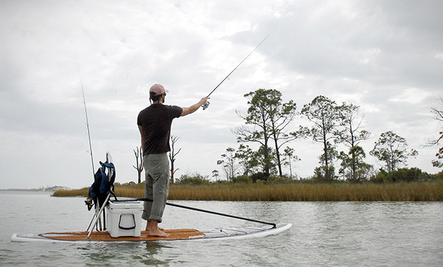 Tight lined tales of a fly fisherman april 2012 for Fly fishing paddle board
