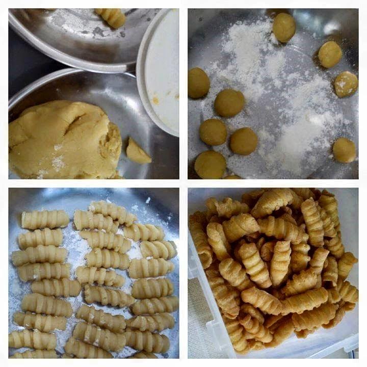 Resep Kue Garpu/ Biji Ketapang - Cara Membuat Kue Kering