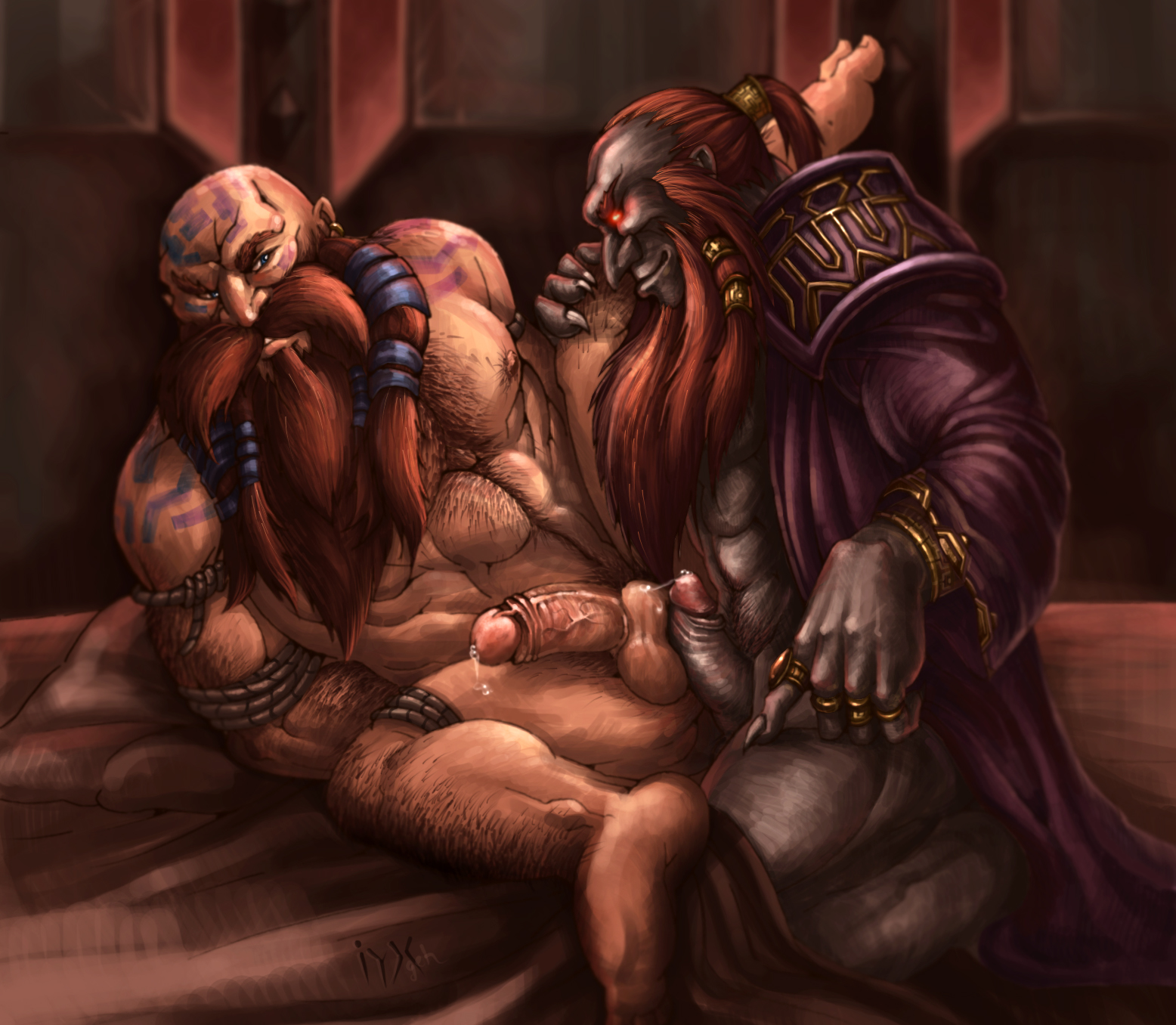 Sex warcraft dwarf nude photo