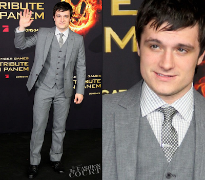 Josh Hutcherson-Hunger Games Movie Premiere-Petta Mellark