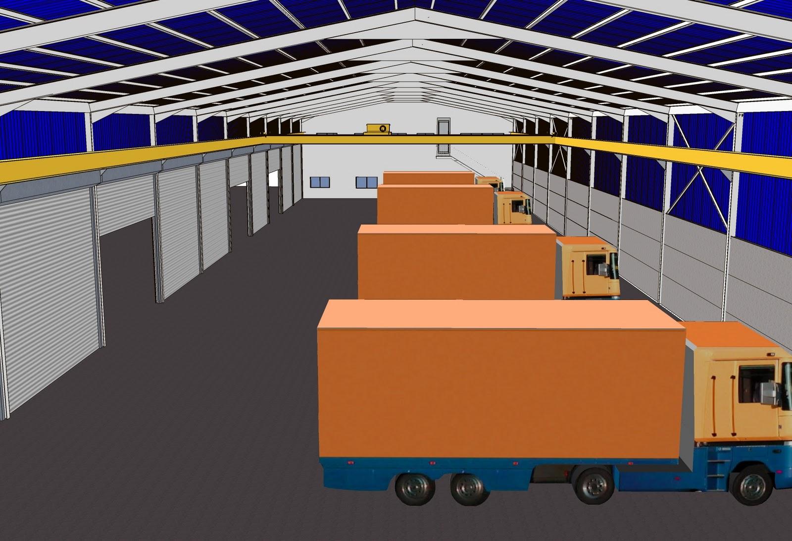 Detalles Constructivos En 3d Detalles De Nave Industrial