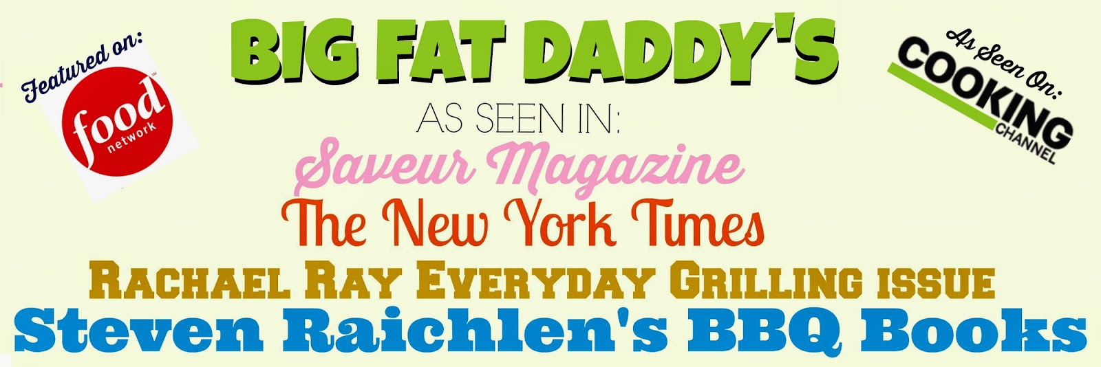 Big Fat Daddy's as seen on the Food Network