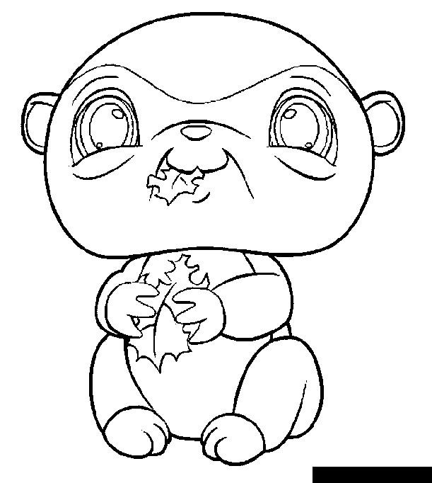 littlest petshop coloring dibujos para colorear | VLC peque