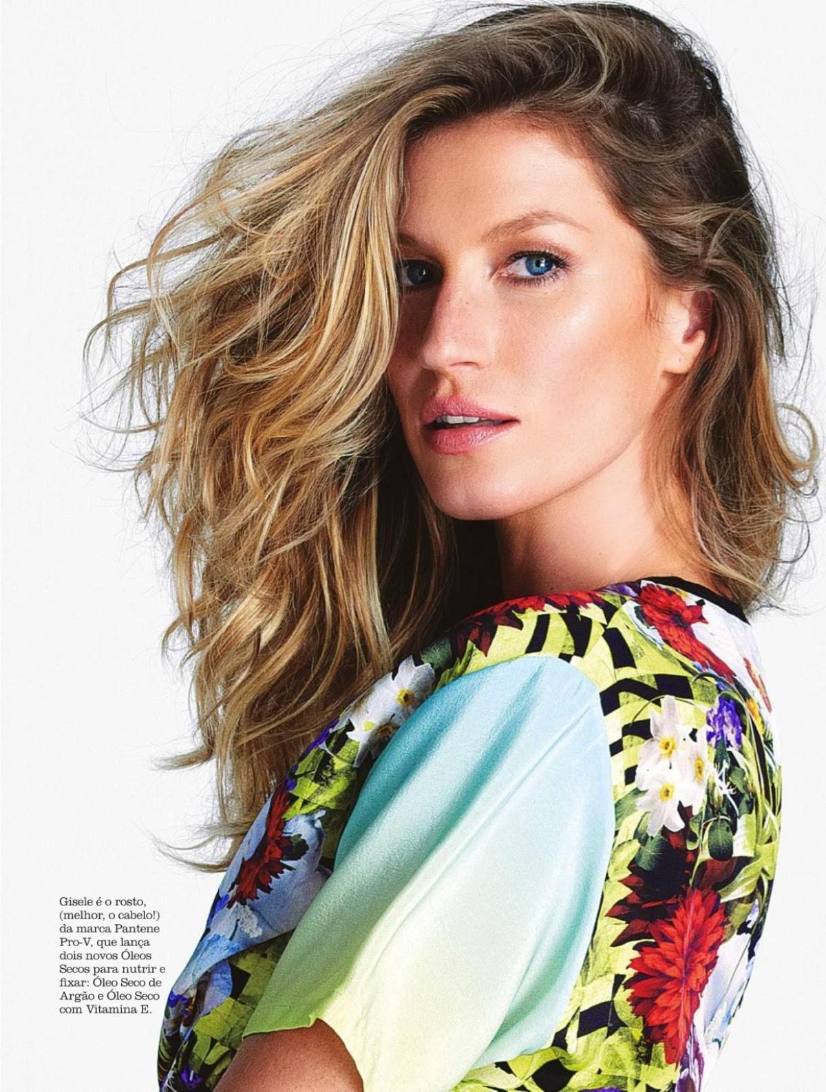 Gisele Bundchen For Elle Magazine, Argentina, July 2014 ... Gisele Bundchen Wiki