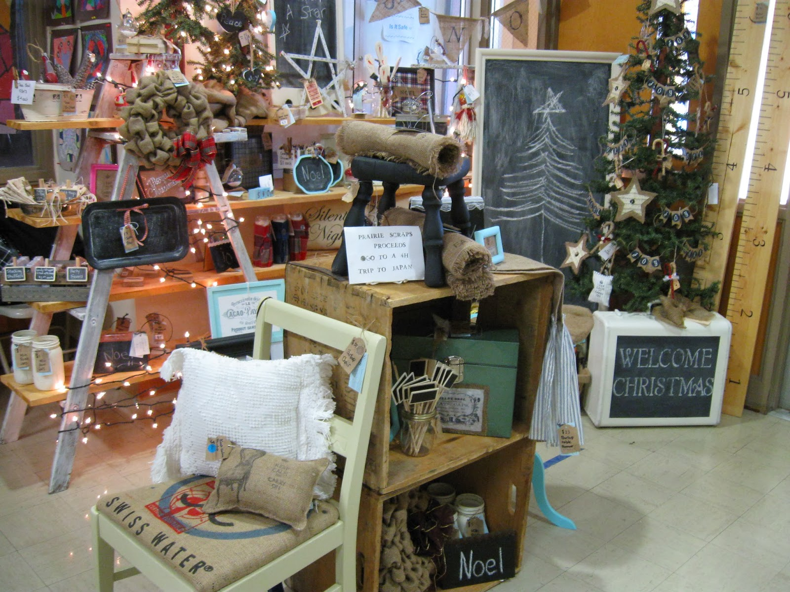 Stampin 39 on the prairie holiday craft fair for Top selling handcrafted items