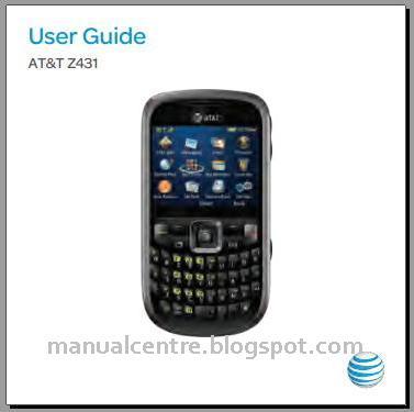 ZTE Z431 Manual Cover