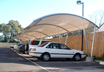 Cantilever Car Parking Shades Car Park Shade Structure