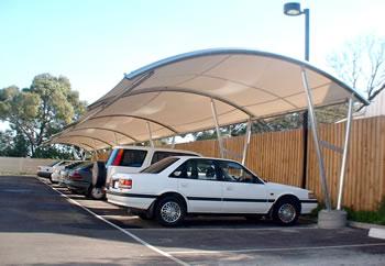 Cantilever Car Parking Shades