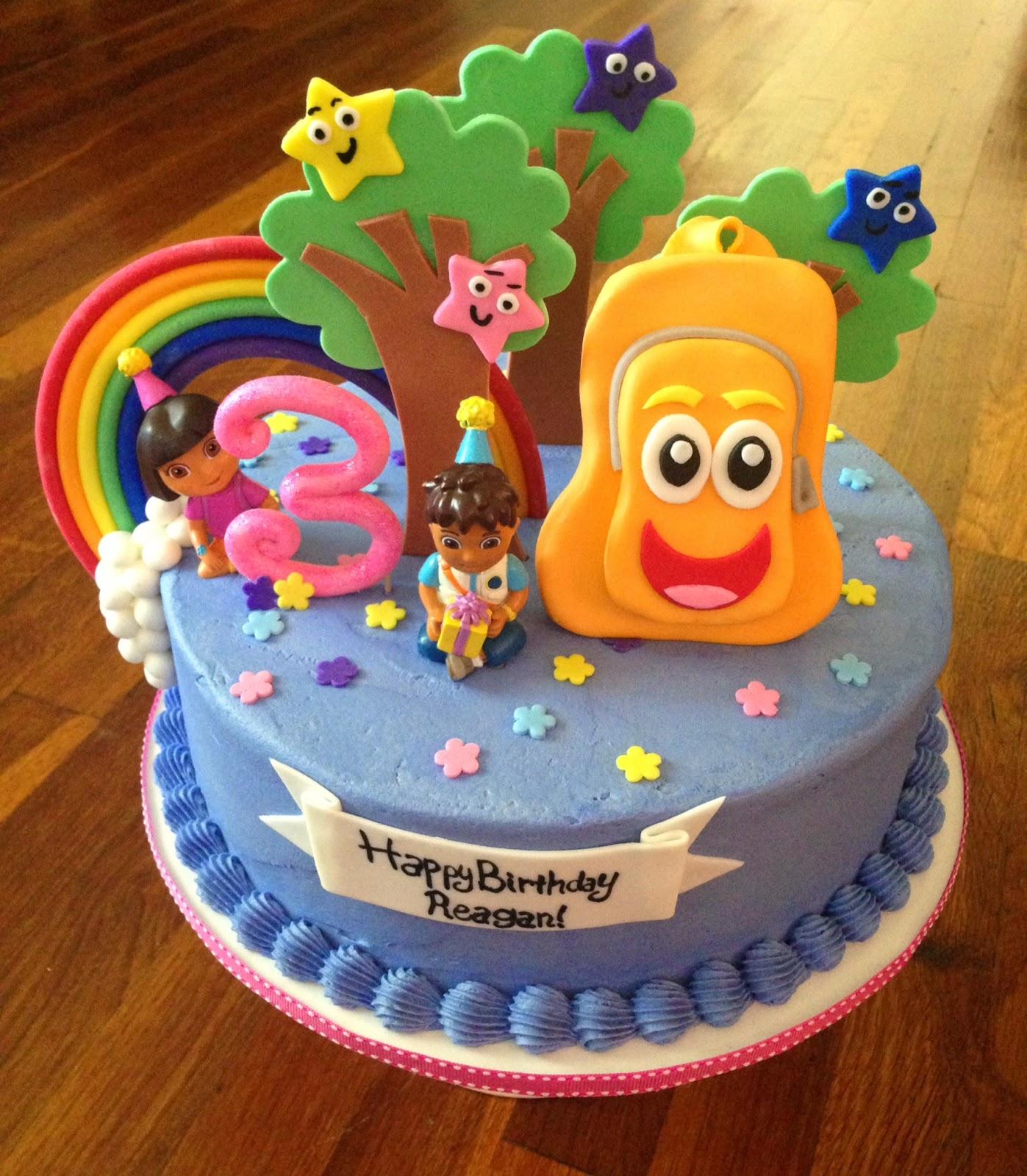 Cakes By Becky Dora Diego Birthday Cake