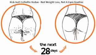 Kick butt Cellulite Redux - Not Weight Loss, Not A Gym Routine