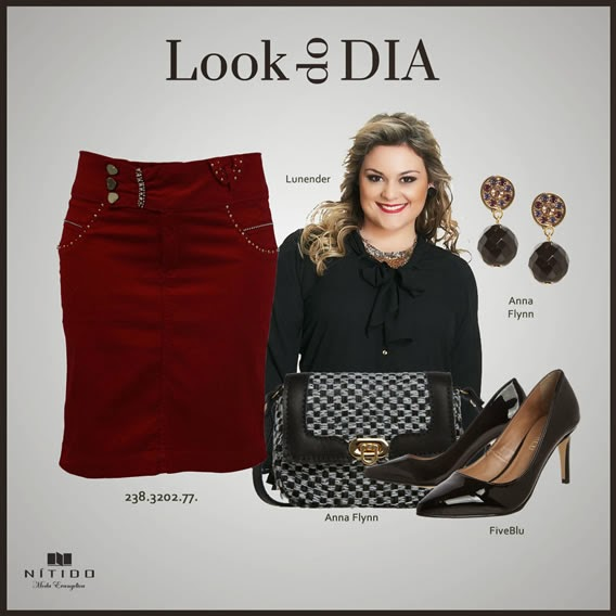 Look com camisa plus size