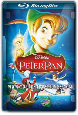 As Aventuras De Peter Pan (1953) Torrent – BluRay 720p | 1080p Dual Áudio 5.1