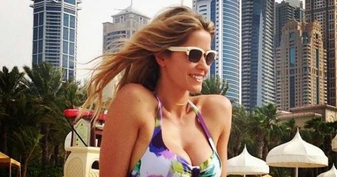 Vita Da Vip Elena Santarelli Il 2 Giugno Sposa A Dubai Laddio Al