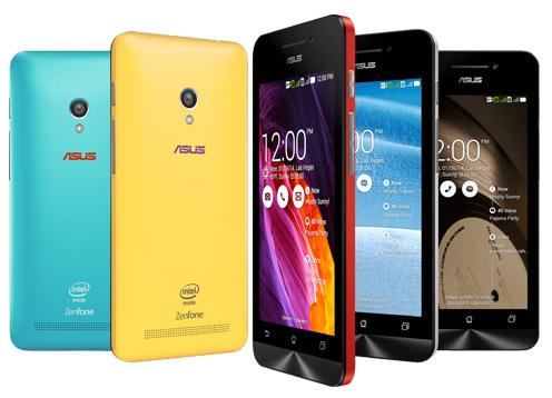Spesifikasi dan Harga Asus Zenfone 4, Smartphone Android Jelly Bean 1 Jutaan