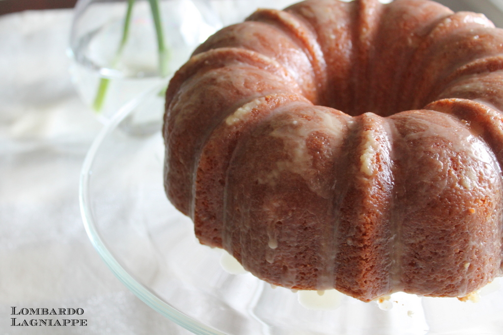 Lombardo Lagniappe: Orange Amaretto Pound Cake